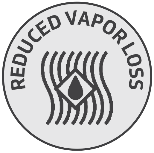 Reduced Vapor Loss